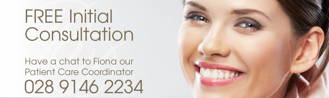 free initial consultation at brunswick dental practice Northern Ireland